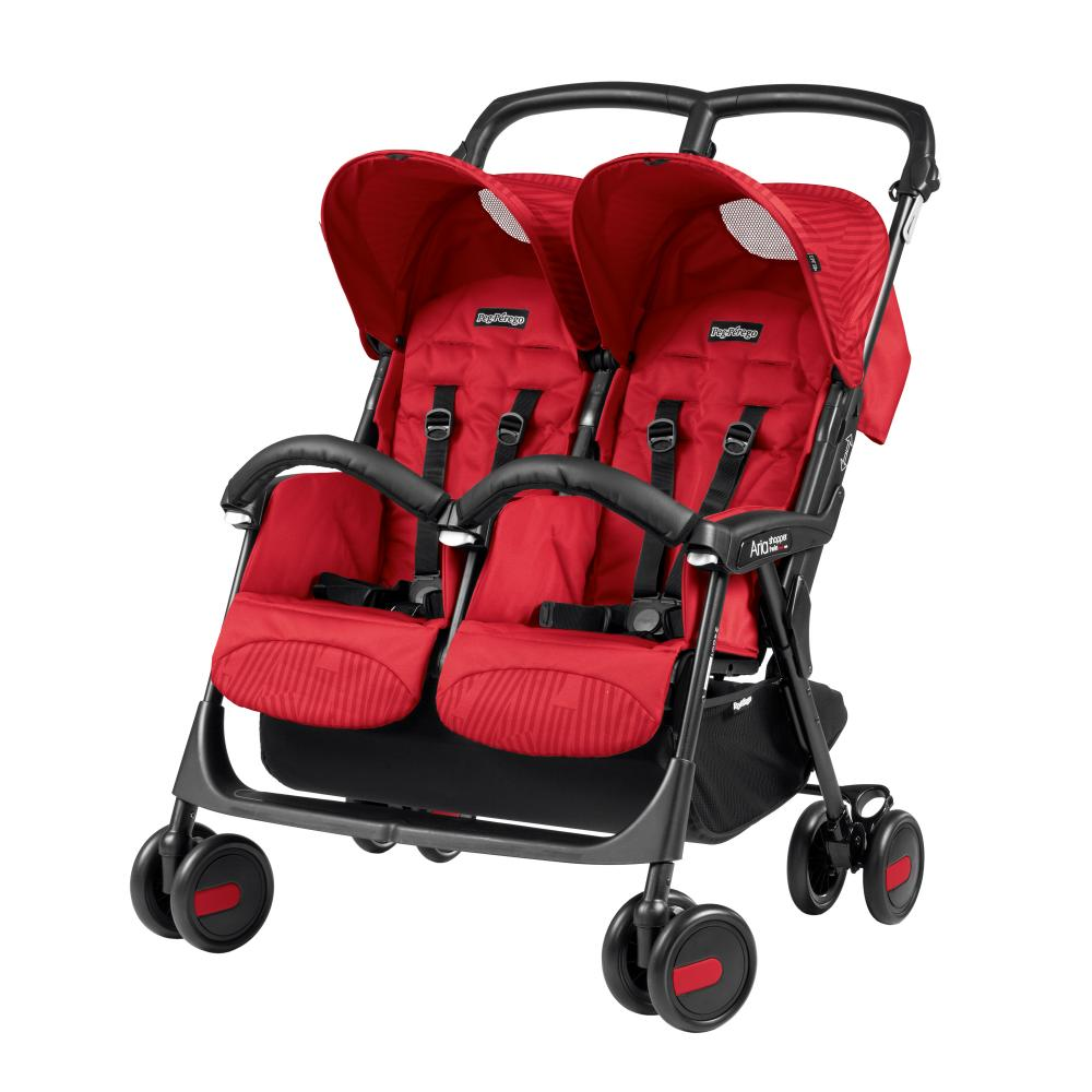 Carucior Peg Perego Aria Shopper Twin Geo Red thumbnail