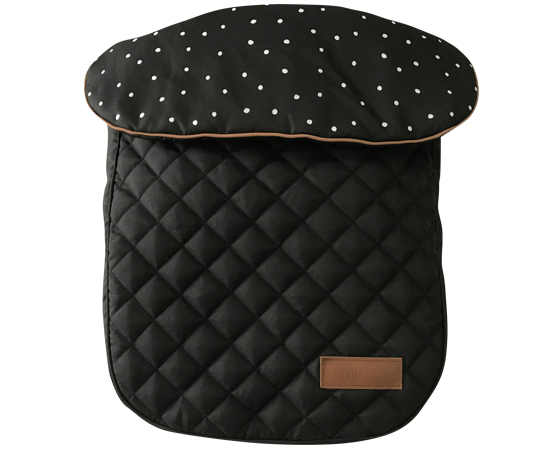 Carucior transformabil 2 in 1 Dotty Black