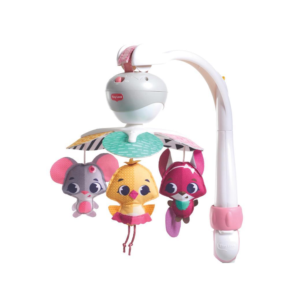 Carusel muzical portabil Tiny Princess Tales Ia-ma cu tine Tiny Love