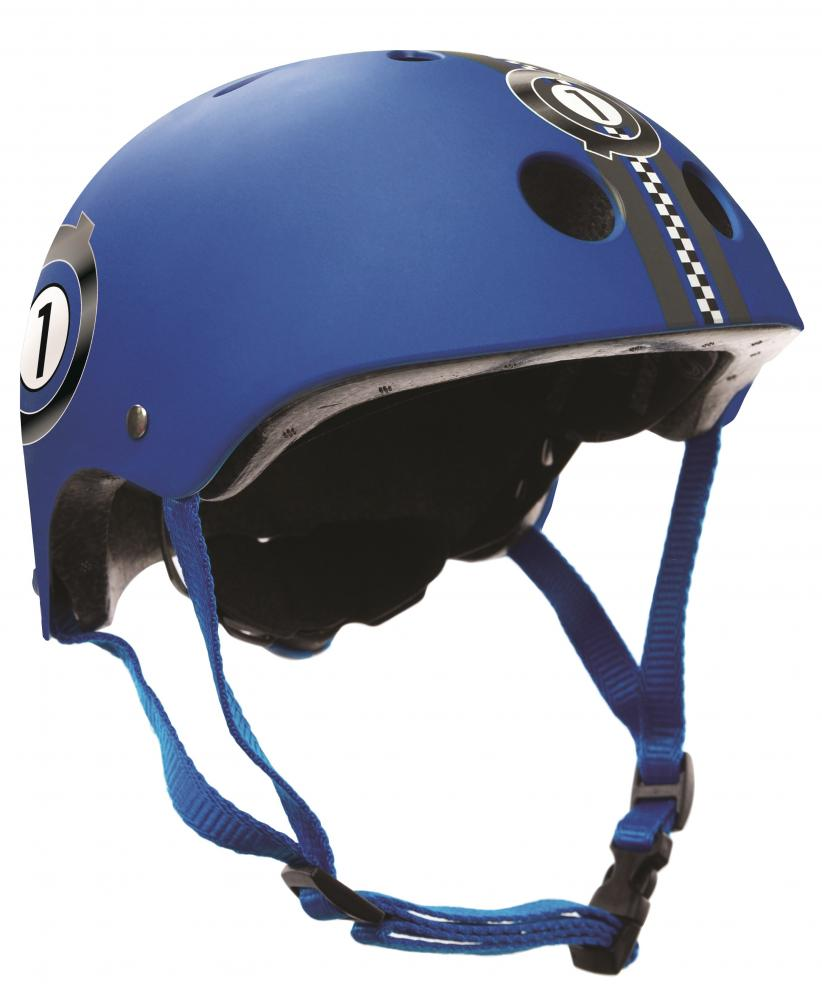 Casca protectie junior Globber Blu Race XSS imagine
