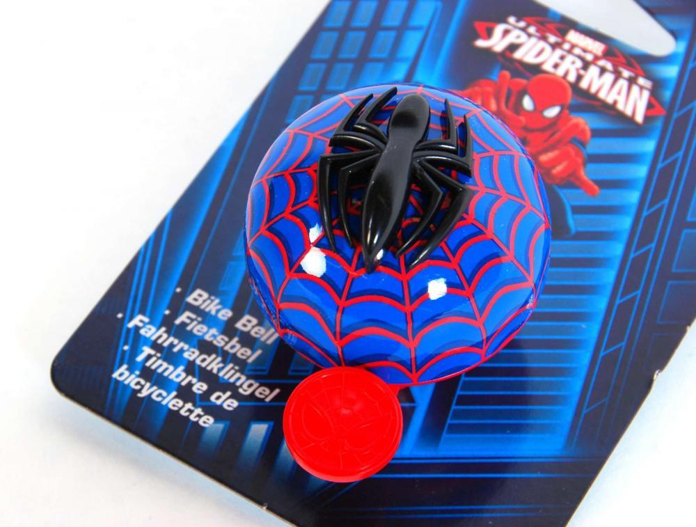Clopotel bicicleta Spiderman EL