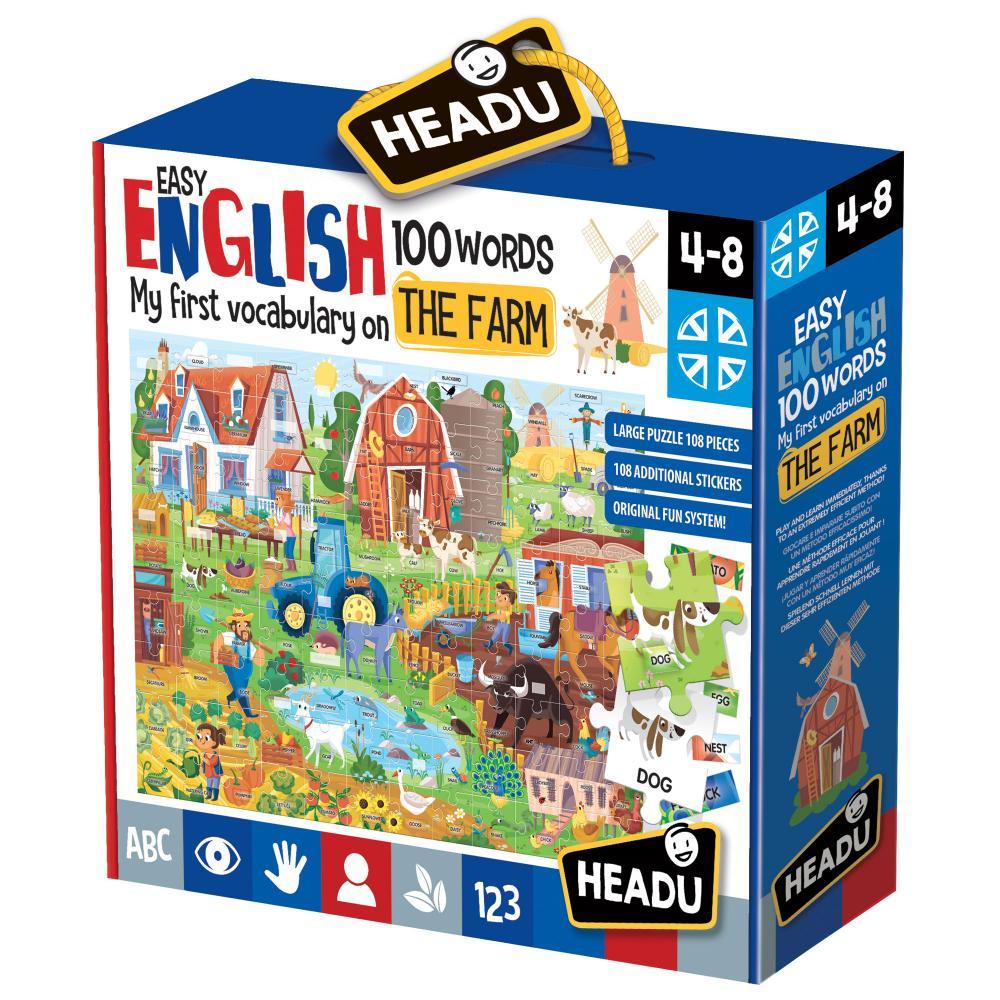 Engleza nivel simplu 100 cuvinte Ferma