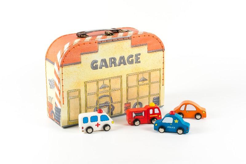 Garaj cu masinute Egmont imagine
