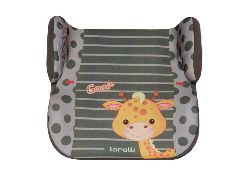 LORELLI Inaltator auto 15-36 Kg Topo Comfort Green Girafe