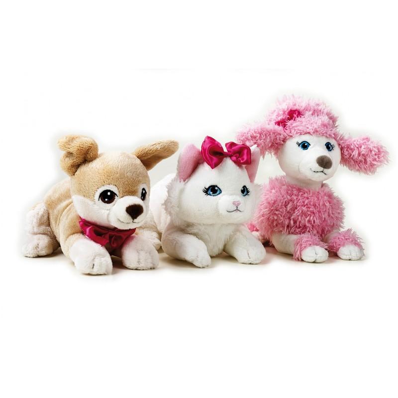 Jucarie din plus Animal companie Barbie cu husa 20 cm