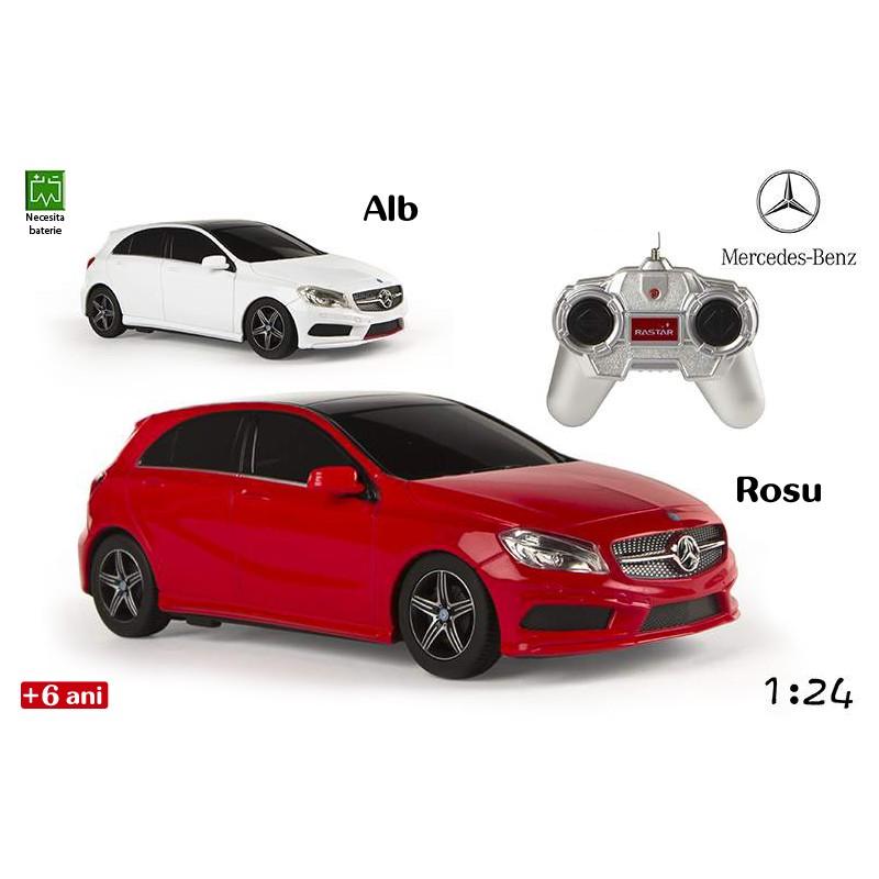 Jucarie masina Mercedes-Benz Clasa A cu radiocomanda