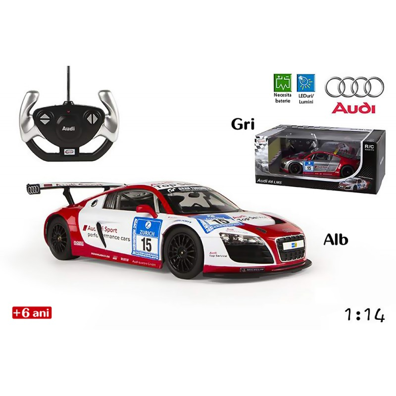 Jucarie masina de curse Audi R8 LMS Performance