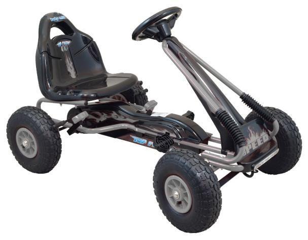 Kart cu pedale Speed Fever Grey imagine