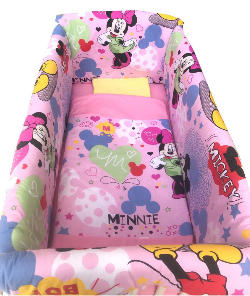 Lenjerie de pat Maxi Minnie Mouse 120x60 cm