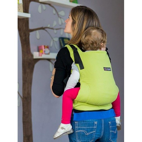Marsupiu Isara Toddler Full Wrap Conversion Lime