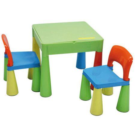 Masuta Mamut cu 2 scaunele Multicolor