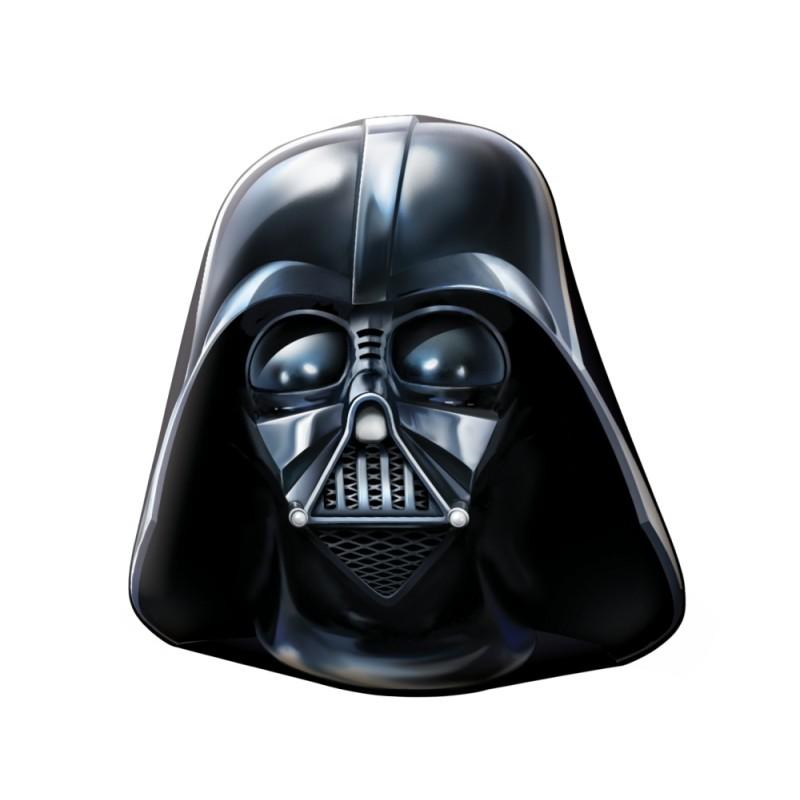 Perna Darth Vader 40×40 cm velur din categoria Camera copilului de la DIVERSE