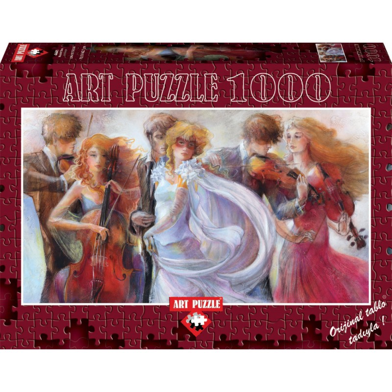 Puzzle 1000 piese Panoramic Just Love Lena Sotskova