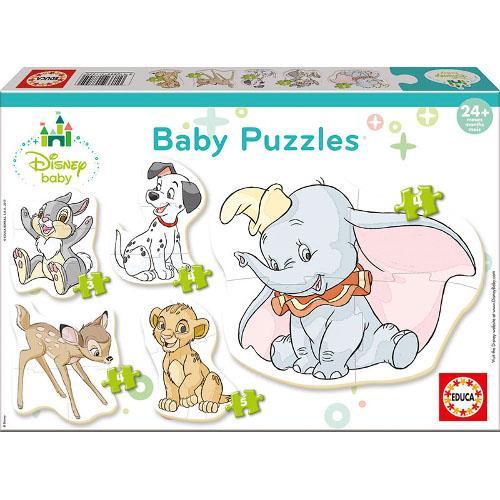 Puzzle Baby Disney Animals 19 Piese