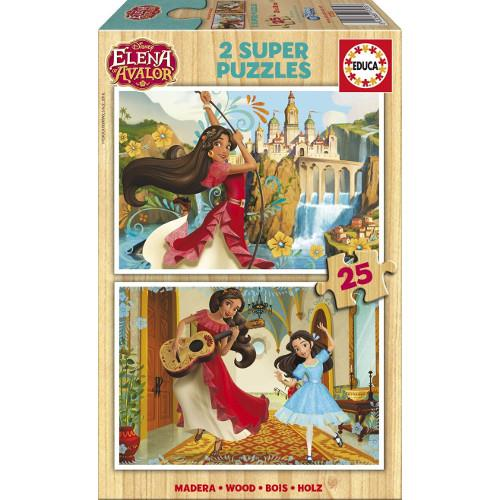Puzzle Elena din Avalor 2x25 piese