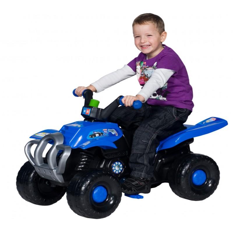 Quad cu pedale Blue Police imagine