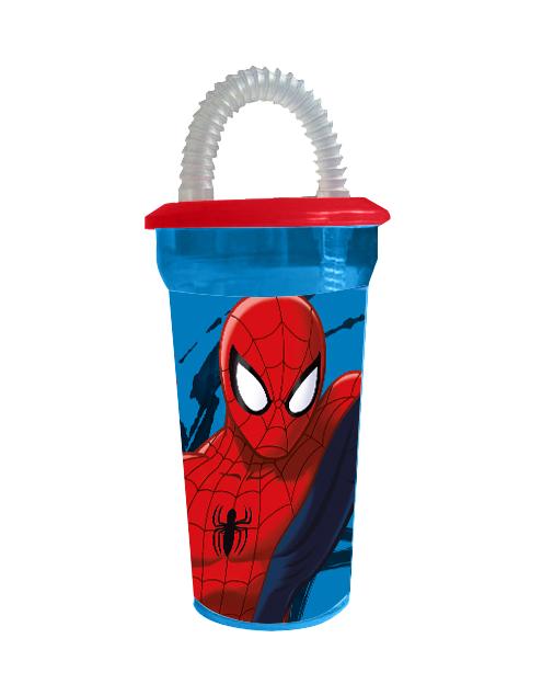 Recipient cana 450 ml Spiderman