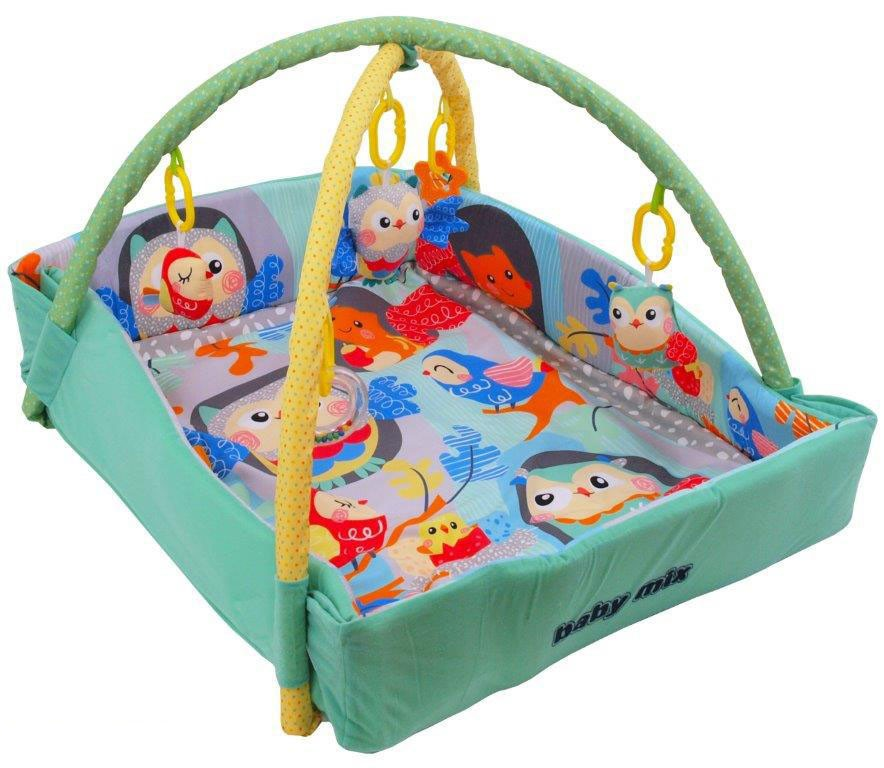 Saltea de joaca cu protectii laterale Happy Nest din categoria Camera copilului de la BABY MIX