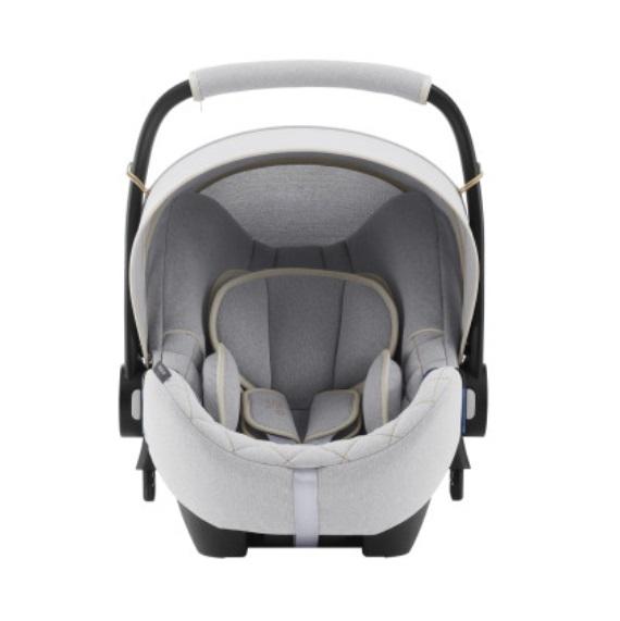 Scaun auto Baby-Safe i-Size Nordic Grey Britax-Romer
