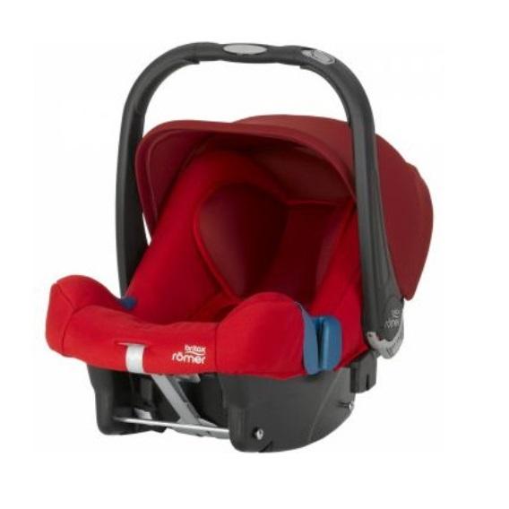 Scaun auto Baby-Safe plus Shr II Flame Red Britax imagine