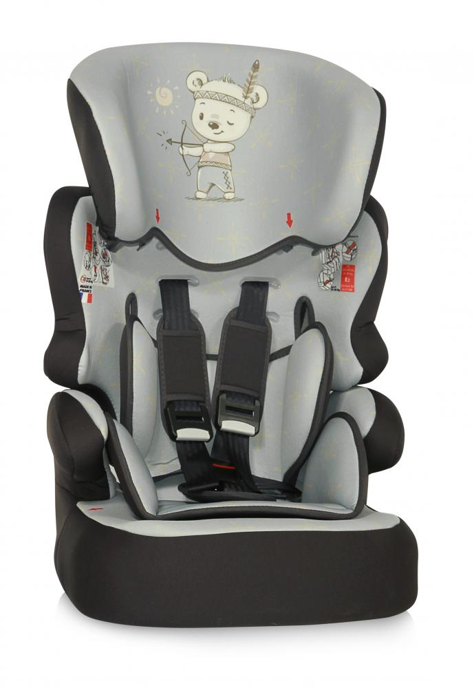 Scaun auto X-Drive Plus 9-36 Kg Grey Indian Bear thumbnail