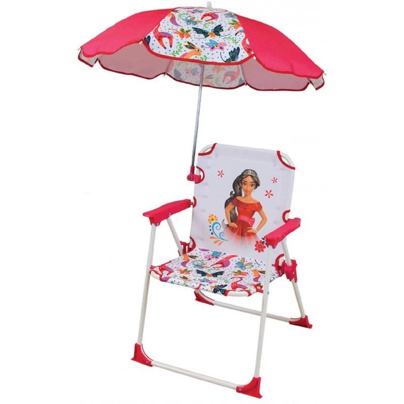 Scaun pliant cu umbrela de soare Elena din Avalor