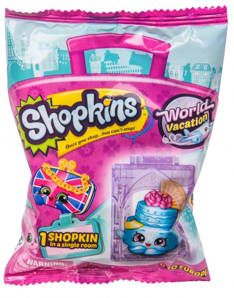 Shopkins figurina + casuta folie