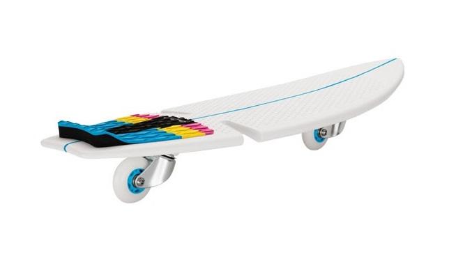 Skateboard Razor RipSurf CMYK