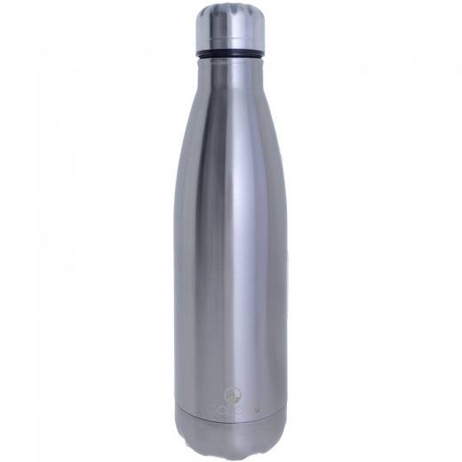 Sticla vacuum termoizolanta din otel inoxidabil Kooleco hotNcold 500 ml Silver