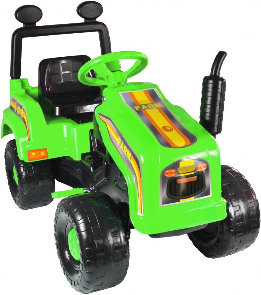 Tractor cu pedale Mega Farm green