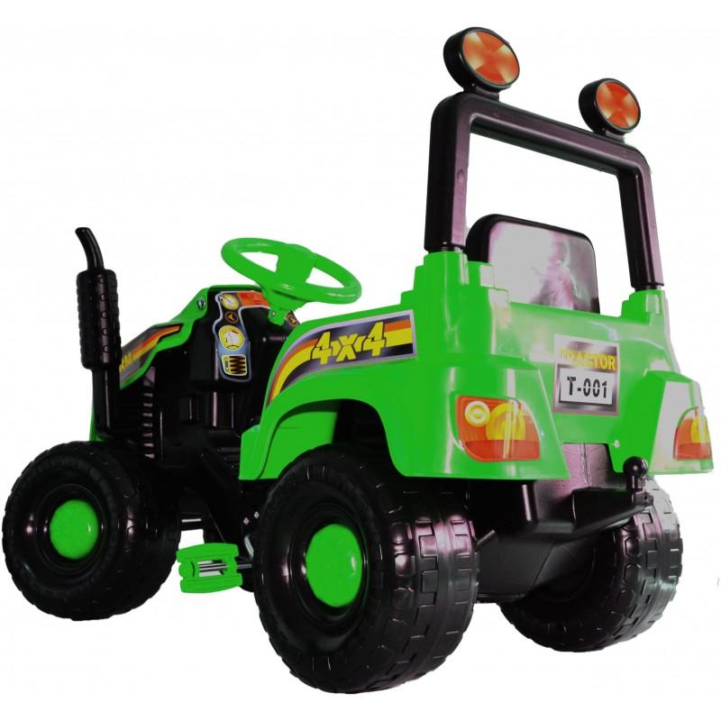 Tractor cu pedale Mega Farm green imagine