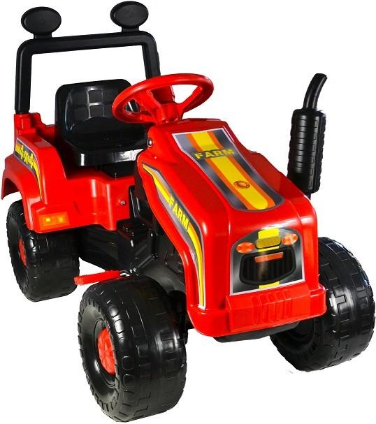 Tractor cu pedale Mega Farm red