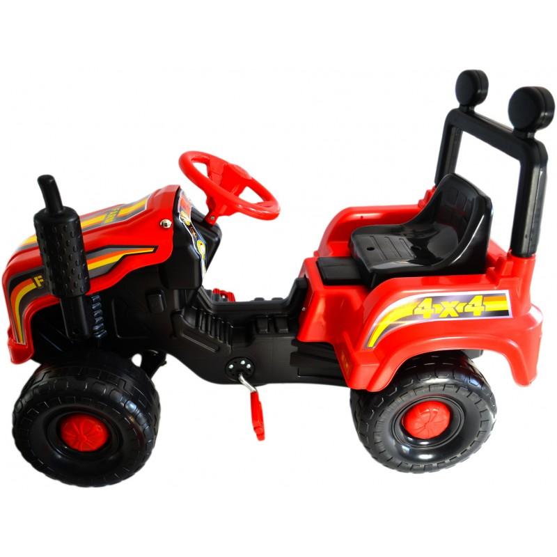 Tractor cu pedale Mega Farm red imagine