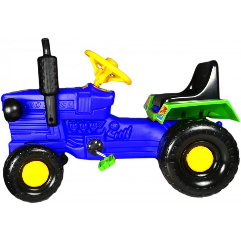 Tractor cu pedale Turbo blue imagine