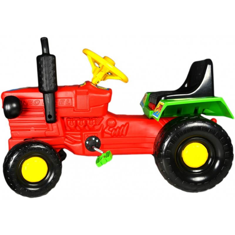 Tractor cu pedale Turbo red imagine