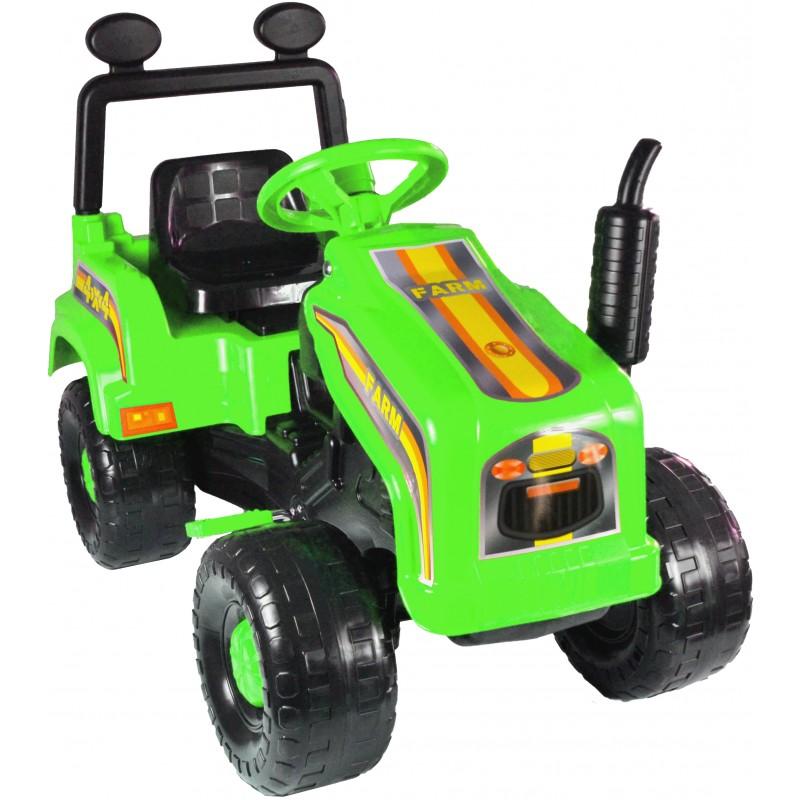 Tractor cu pedale si remorca Mega Farm green imagine