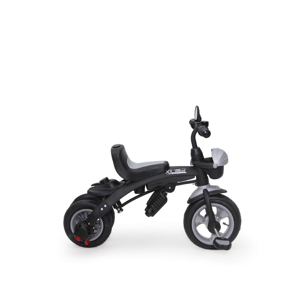 Tricicleta cu sezut reversibil si roti gonflabile Fenix Green