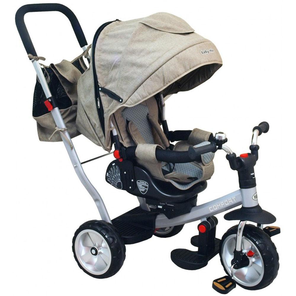 Tricicleta cu spatar rabatabil Extra Comfort Travel imagine