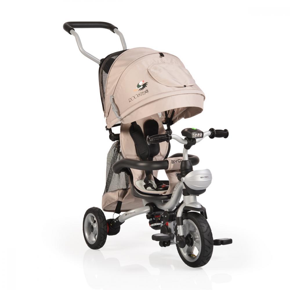 Tricicleta pentru copii Rooster Beige imagine