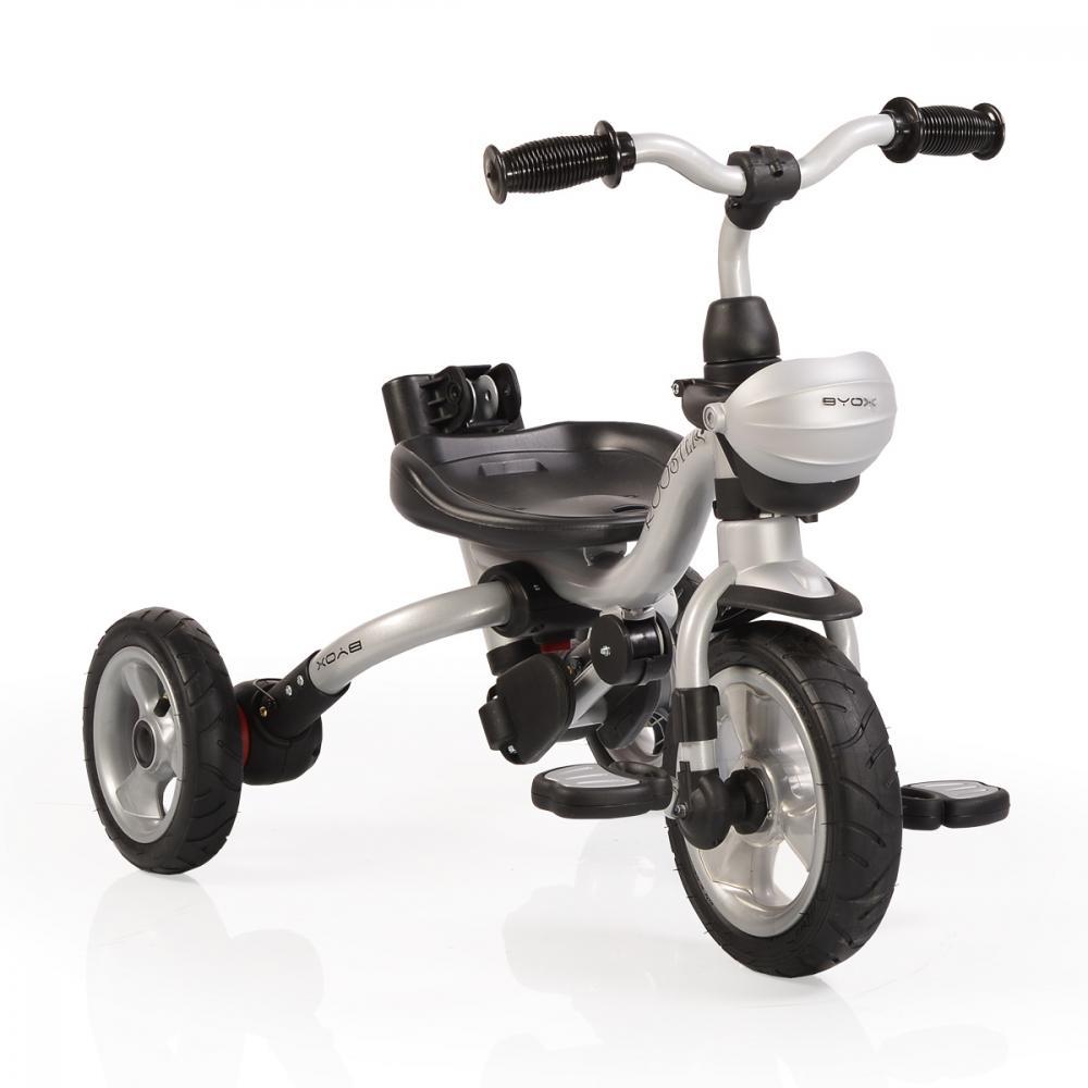 Tricicleta pentru copii Rooster Red
