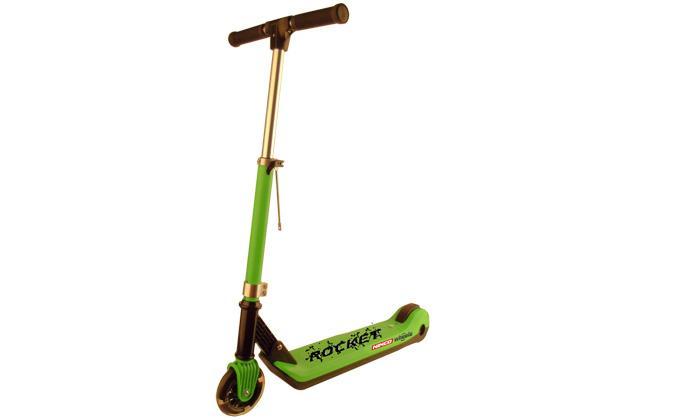 Trotineta electrica Junior Rocket verde