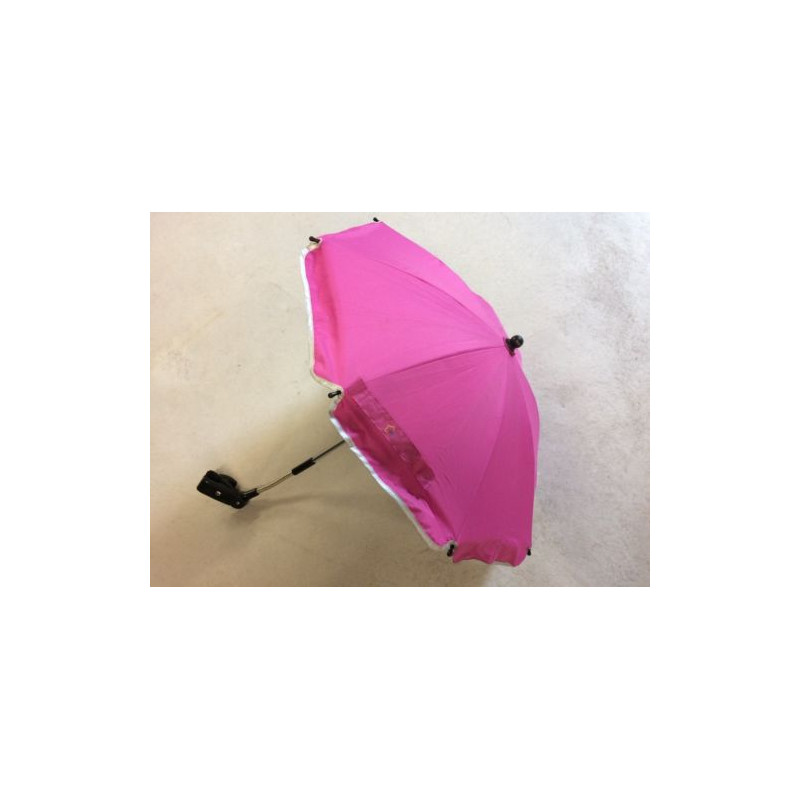 Umbrela pentru carucior 75 cm UV 50+ Pink Fillikid - 2