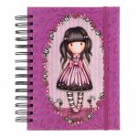 Agenda cu spira Gorjuss Sugar And Spice