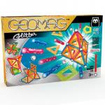 Joc de contructie magnetic Geomag Glitter 68 piese
