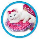 Jucarie din plus Animal companie Barbie pe perna 20 cm