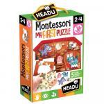 Primul meu Puzzle Montessori Ferma