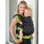 Marsupiu Isara Toddler Full Wrap Conversion Diamonda Black Denim