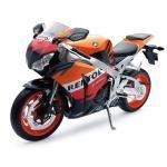 Motocicleta diecast curse Honda CBR1000RR Fireblade Honda Rebel