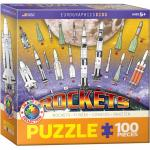 Puzzle 100 piese Rockets