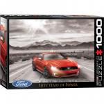 Puzzle 1000 piese 2015 Ford Mustang GT Fifty Years of Power
